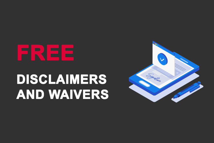 Sports Booker Free Disclaimers
